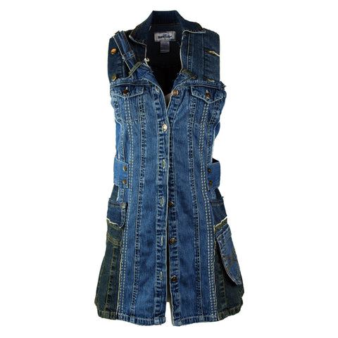 Hoard Couture Original Denim Tunic