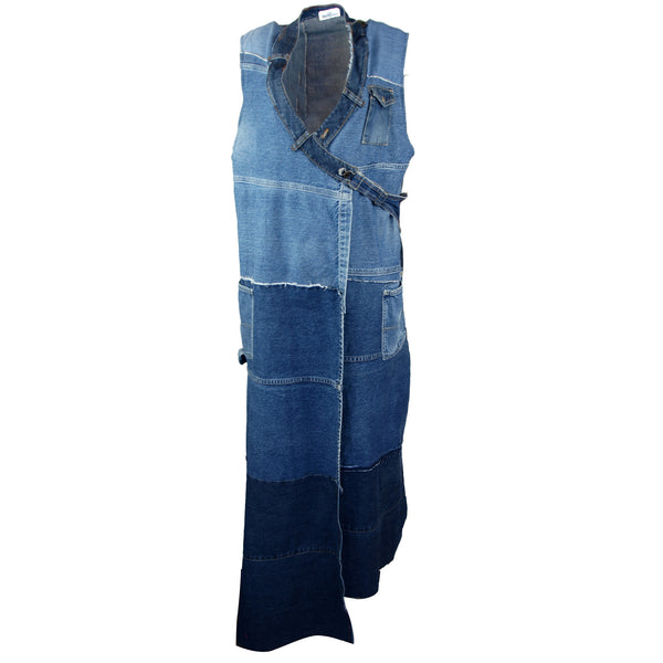 Hoard Couture Original Denim Maxi Vest