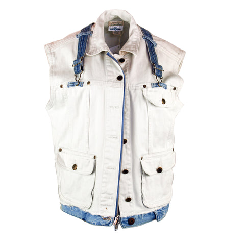 Double Your Denim Vest