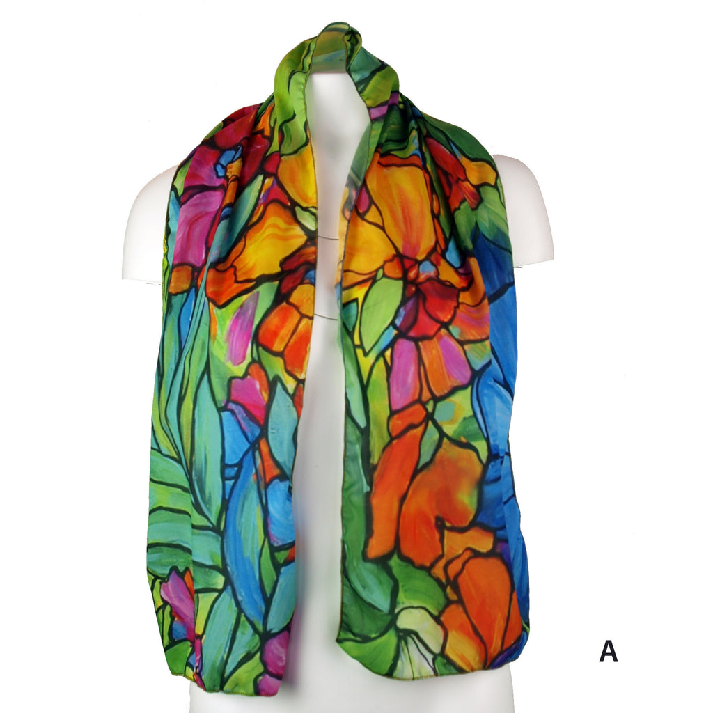 Stained Glass Print Scarf