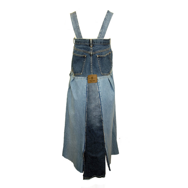 Hoard Couture Original Denim Messy Dress