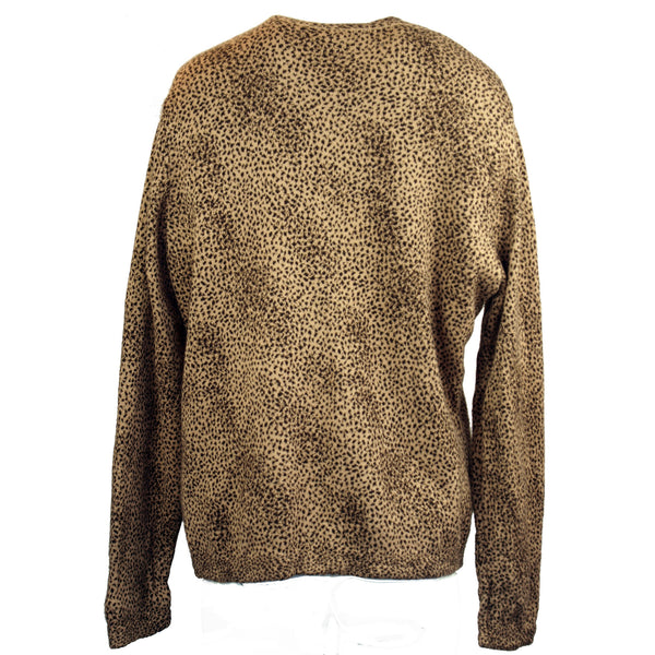 Leopard Print Twin Sweater Set
