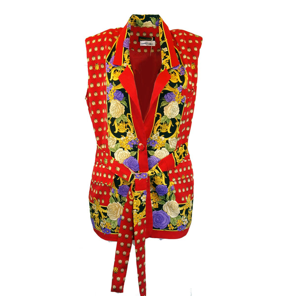 Retro 80's Lady Bug Blouse