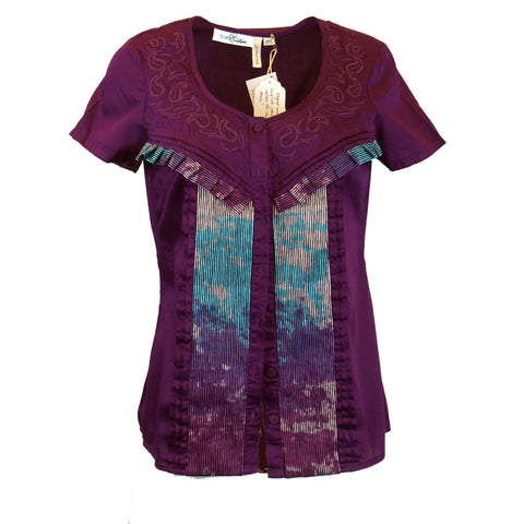 Royalty Purple Blouse