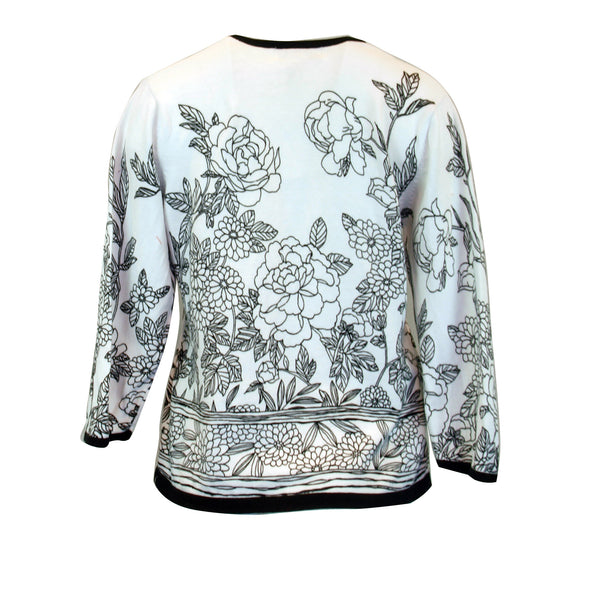 Coloring Book Sweater Top