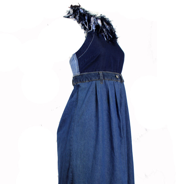 Hoard Couture Original Denim Apron Dress