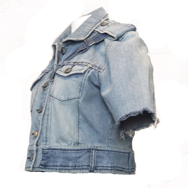 Hoard Couture Denim Butterfly Jacket