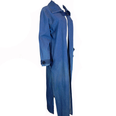 Hoard Couture Original Denim Cape Coat