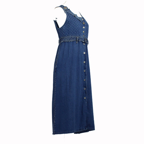 Hoard Couture Original Denim Jumper Dress