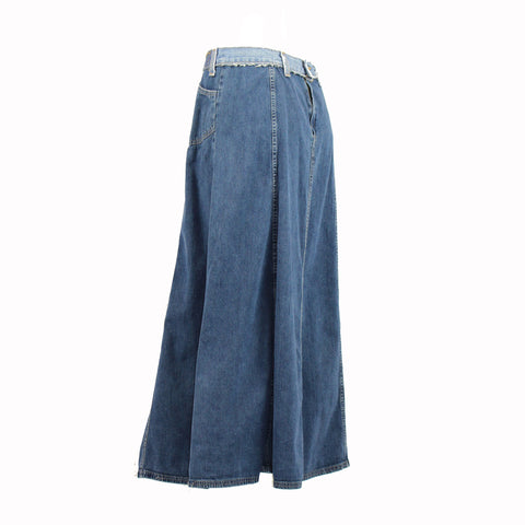 Hoard Couture Original Denim Midi Skirt