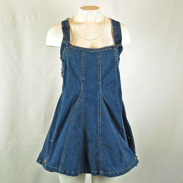 Hoard Couture Original Denim Baby Doll Top