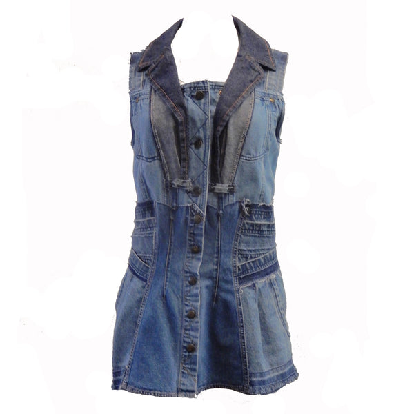 Hoard Couture Original Denim Tunic 3