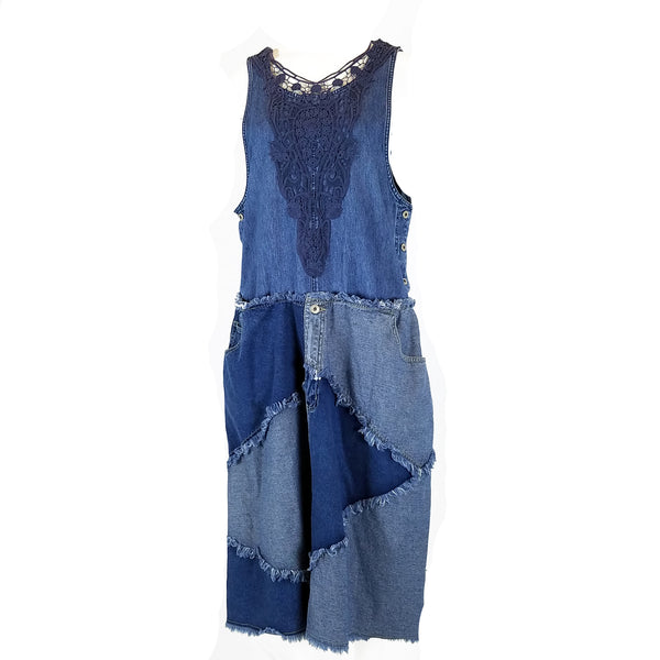 Hoard Couture Original Denim Tank Dress