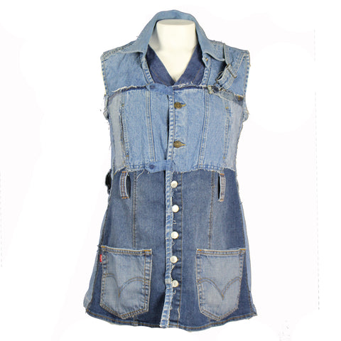 Hoard Couture Original Denim Tunic #4
