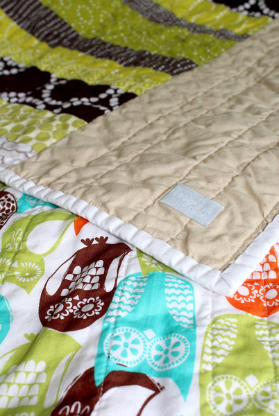 Woodsy Owls Baby Quilt