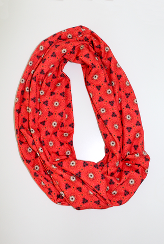 Red Roses Infinity Scarf