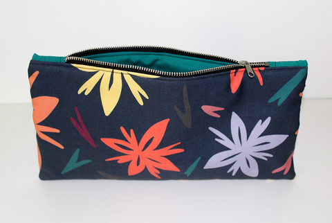 Night Blooms Zipper Bag