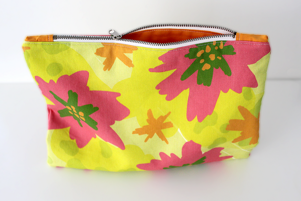 Tropical Punch Zipper Bag
