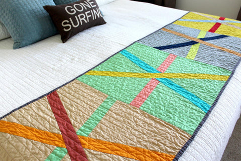 Asterisk Bed Runner