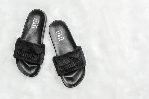 Rihanna Slippers black – OneRichShop d1747e5ad