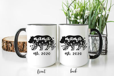 Mama Bear Coffee Mug | Mother's Day Gift | Personalized Coffee Mug