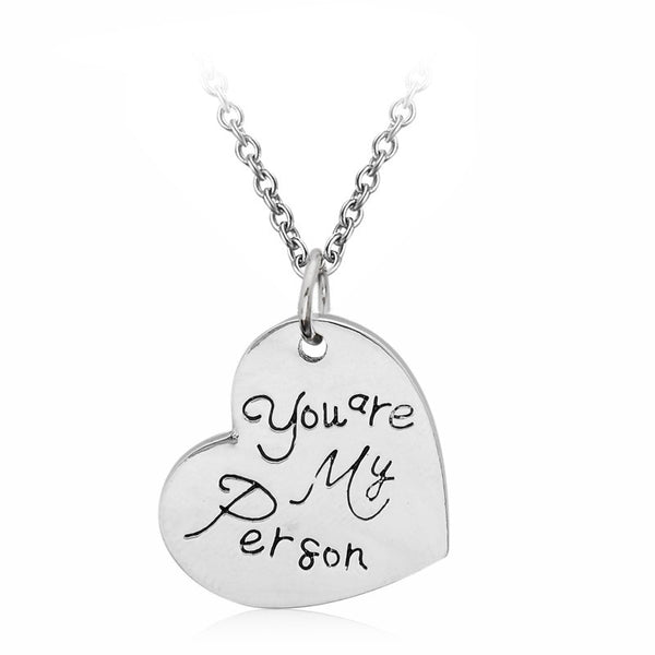 Grey's Anatomy Necklace - You Are My Person