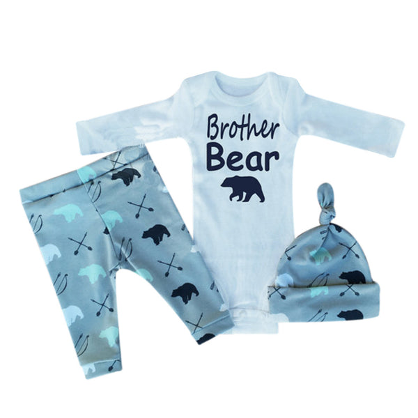 3pcs Brother Bear Set