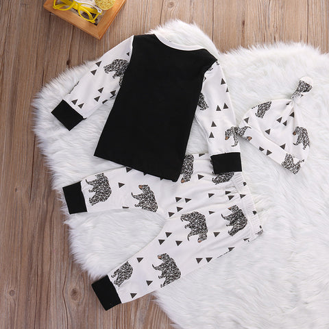Geo Bear Little Outfit