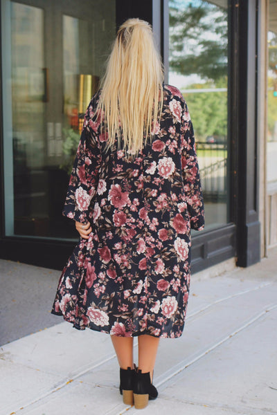 Mara Floral Duster
