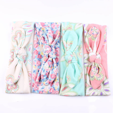 Top Knot Floral Paisley Headbands