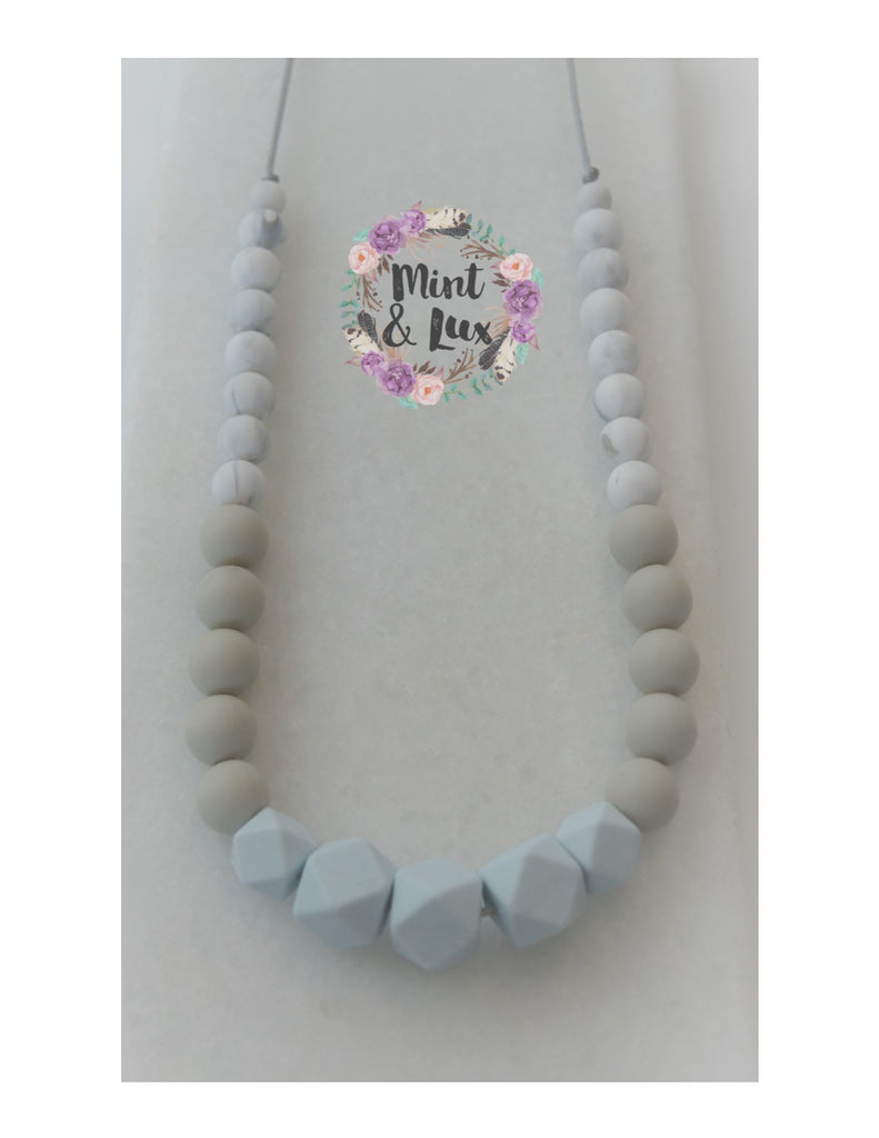 The Glacier Teething Necklace