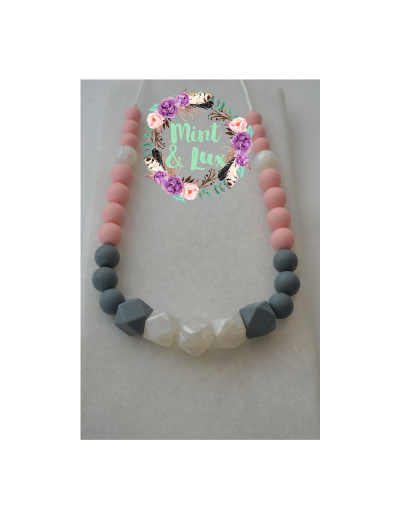 The Coco Pearla Teething Necklace
