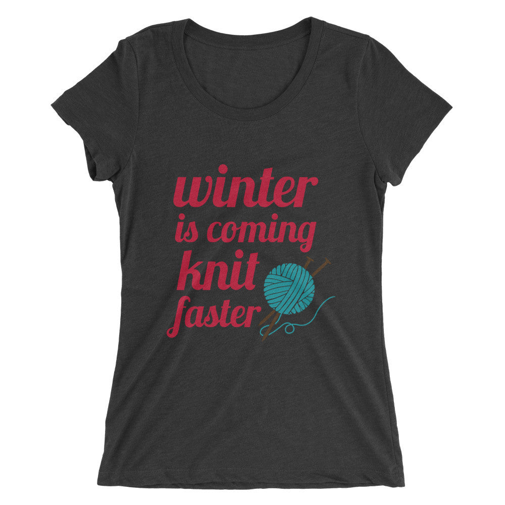 Winter Knitting Mint & Lux T-Shirts