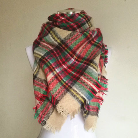 Kid's Tartan Scarf - 11 Colours