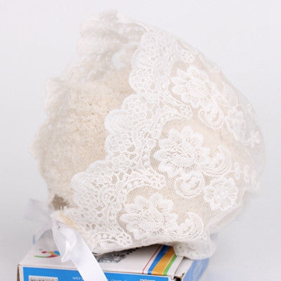 Lace Vintage Bonnet in 3 Colours