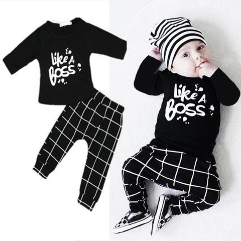 Like A Boss Outfit 2 pc set