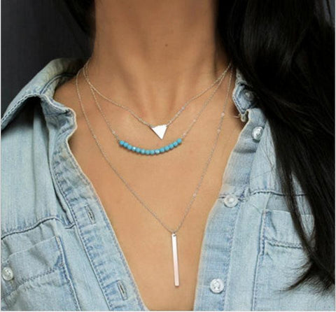 Clavicle 3 Layer Teal