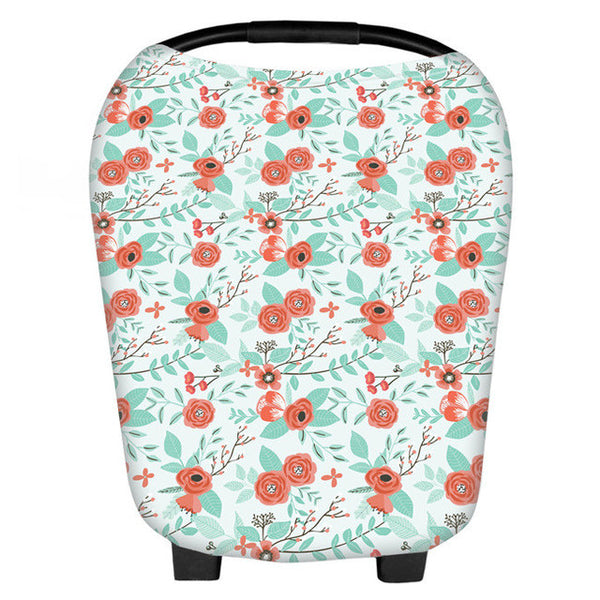 Floral 3 in 1 Car Seat Covers - 9 Colours