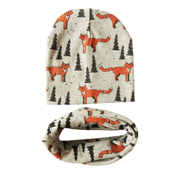 NEW! Animal Beanie & Scarf Sets in 24 Colours