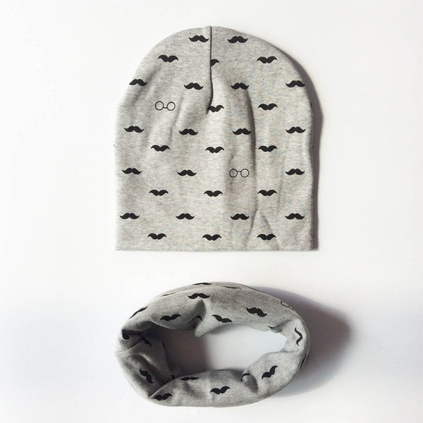 NEW! Beanie Mustache Sets