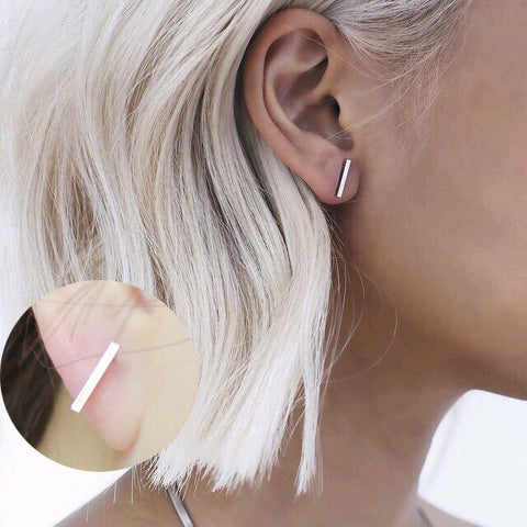 Minimalist Bar and Geo Shapes Earrings 15 Options