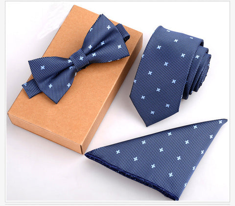 Men's 3Pc Bow Tie Sets