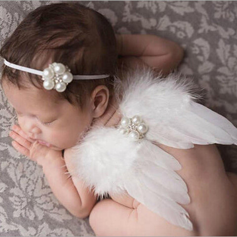 Angel Wings Newborn Photo Prop