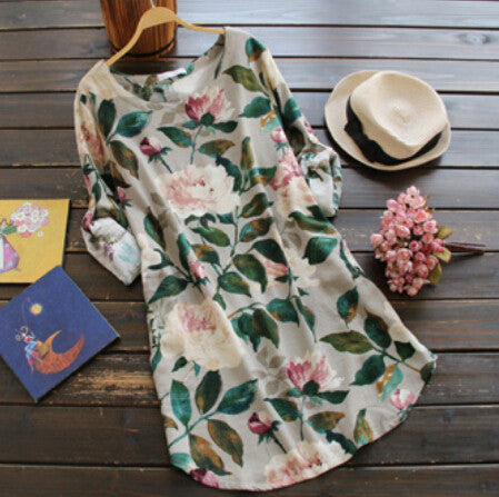 Summer Flowers Tunic