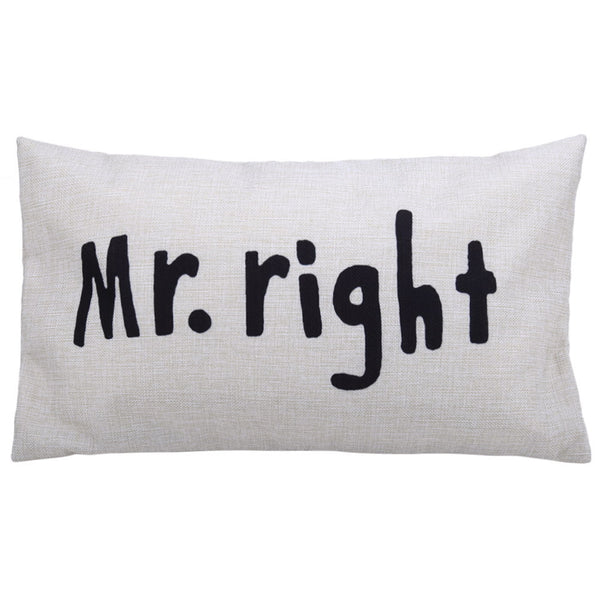 Mr & Mrs Pillows
