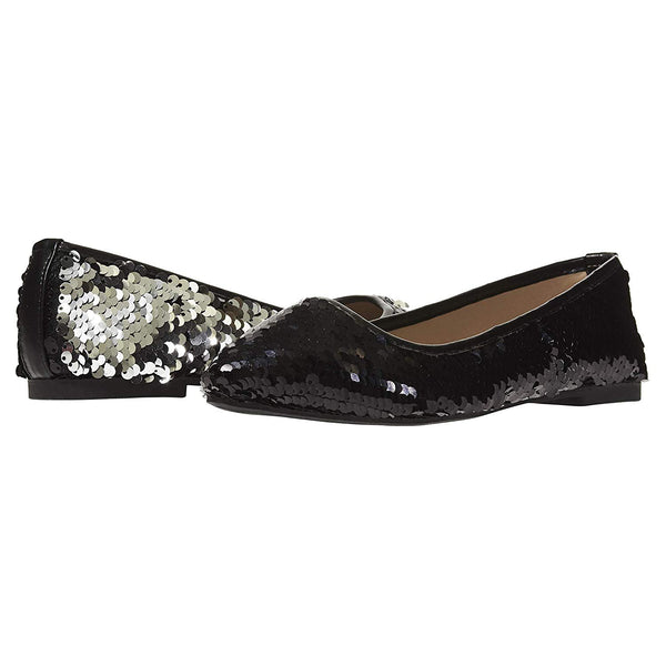 43b8a6a27704a Chatties Women's Ballet Flats with Reversible Sequins Slip-On Shoes