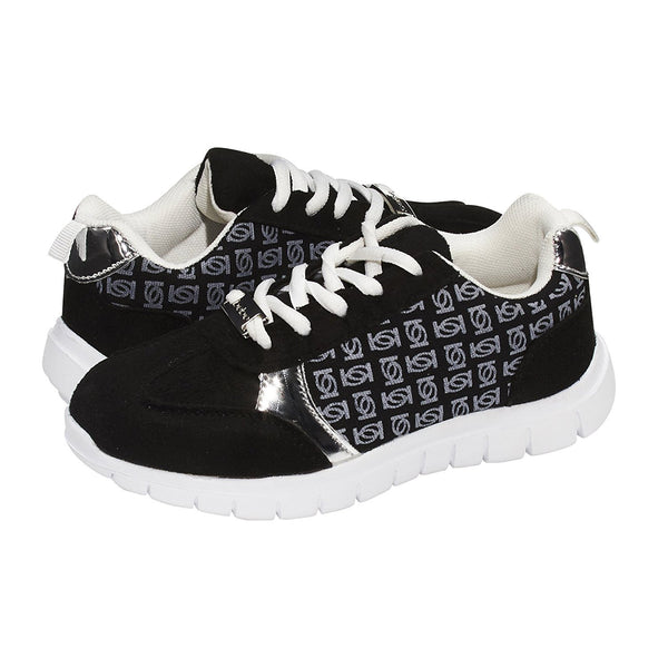 bebe Girls Big Kid Low Top Fashion Sneaker Shoes For Girls Light Weight Running Walking Casual Shoes Size