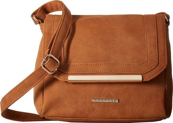 Rampage Womens Sueded Crossbody