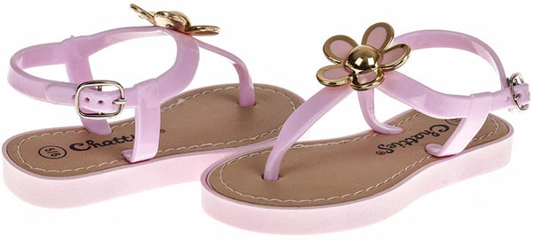 Chatties Toddler T-Strap Sandals - Cute Spring/Summer Footwear for Children