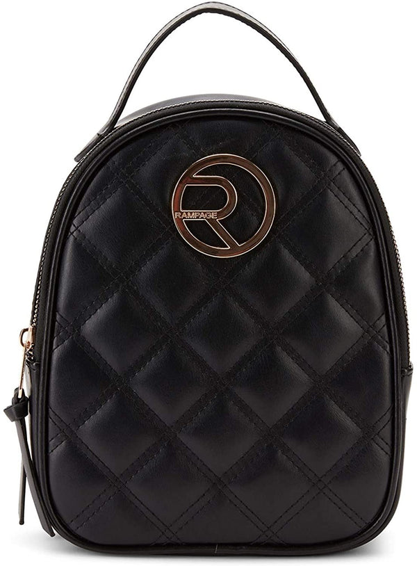 Women's Diamond Quilt Mini Dome Backpack